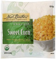 sweet corn organic Nash Brothers Trading Company Nutrition info