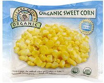 sweet corn Village Grown Organic Nutrition info