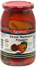 sweet marinated peppers Agrofruct Nutrition info