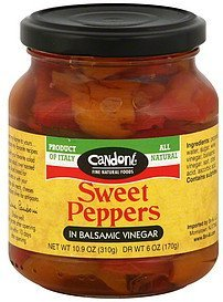 sweet peppers in balsamic vinegar Candoni Nutrition info