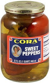 sweet peppers Cora Nutrition info
