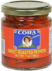 sweet roasted peppers Cora Nutrition info