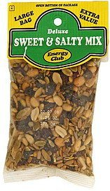 sweet & salty mix deluxe Energy club Nutrition info