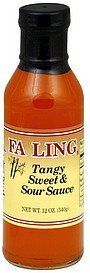 sweet & sour sauce tangy Fa Ling Nutrition info