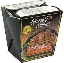 sweet & spicy orange chicken Effortless Entrees Nutrition info