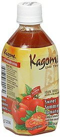 sweet summer tomato juice Kagome Nutrition info