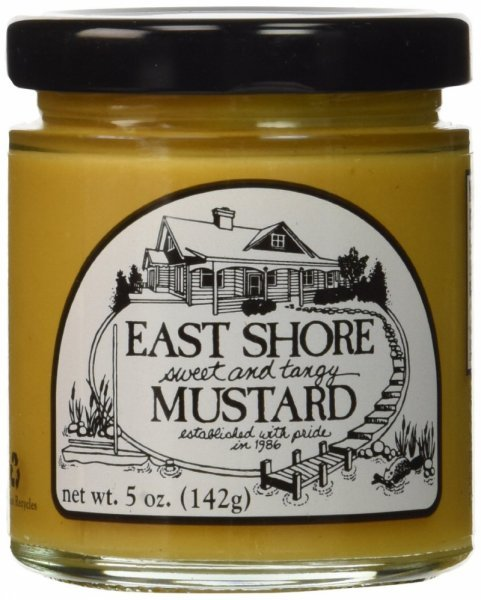 sweet tangy mustard East Shore Nutrition info