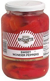 sweet wonder peppers Ba-Tampte Nutrition info