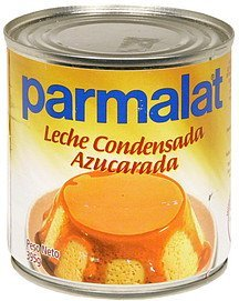 sweetened condensed milk Parmalat Nutrition info