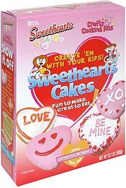 sweethearts cakes Crafty Cooking Kits Nutrition info