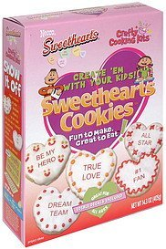 sweethearts cookies Crafty Cooking Kits Nutrition info