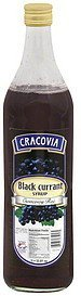 syrup black currant Cracovia Nutrition info
