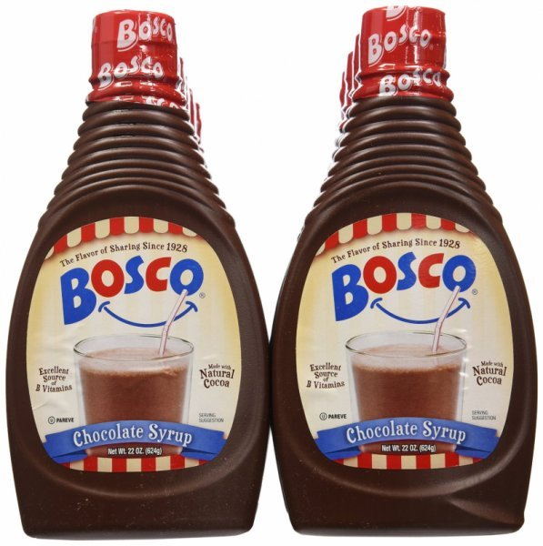 syrup chocolate Bosco Nutrition info