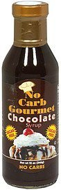 syrup chocolate No Carb Gourmet Nutrition info