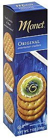 table crackers original Monet Nutrition info
