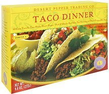 taco dinner Desert Pepper Nutrition info