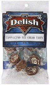 taffy cappuccino ice cream Its Delish Nutrition info