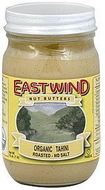 tahini organic East Wind Nutrition info