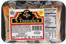tamales Tango Nutrition info