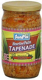 tapenade hearts of palm, tomato SunPix Nutrition info