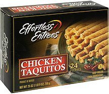 taquitos chicken Effortless Entrees Nutrition info
