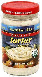 tartar sauce organic Natural Sea Nutrition info