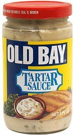 tartar sauce Old Bay Nutrition info