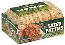 tater patties Pacific Valley Nutrition info