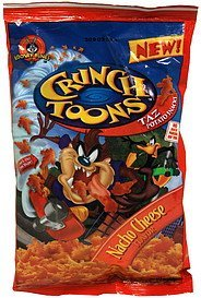 taz potato snacks nacho cheese Crunch Toons Nutrition info