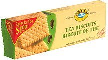tea biscuits pre-priced Pally Holland Nutrition info