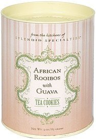 tea cookies african rooibos with guava Splendid Specialties Nutrition info