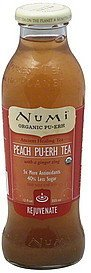 tea pu-erh, peach Numi Nutrition info