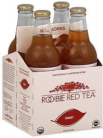 tea sweet Rooibee Red Tea Nutrition info