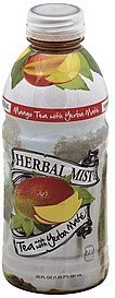 tea with yerba mate, mango Herbal Mist Nutrition info