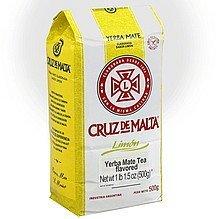 tea yerba mate, flavored Cruz De Malta Nutrition info