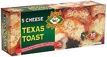 texas toast, 5 cheese Joseph Campione Nutrition info