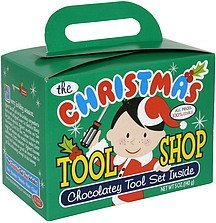 the christmas tool shop chocolatey tool set inside Mom 'N Pops Nutrition info