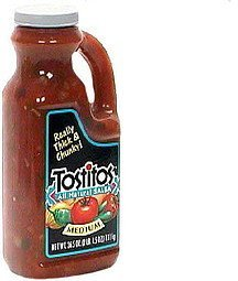 thick & chunky salsa medium Tostitos Nutrition info