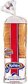 thin enriched bread Rainbo Nutrition info