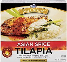 tilapia asian spice Sea Cuisine Nutrition info