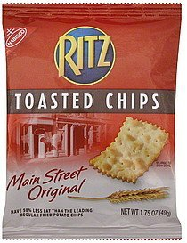 toasted chips main street original Ritz Nutrition info