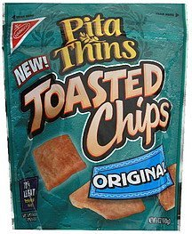 toasted chips original Pita Thins Nutrition info