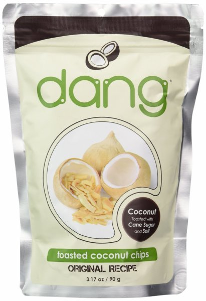 toasted coconut chips Dang Nutrition info