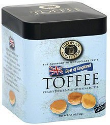 toffee best of england European Voyage Collection Nutrition info