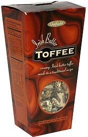 toffee irish butter Oatfield Nutrition info