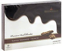 toffee viennese crunch Manhattan Chocolates Nutrition info