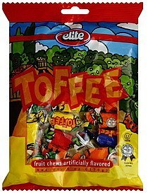 toffee Elite Nutrition info