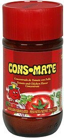 tomato and chicken flavor concentrate granulated Cons-Mate Nutrition info