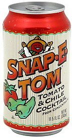 tomato & chile cocktail Snap-E-Tom Nutrition info