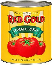 tomato paste Red Gold Nutrition info